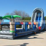 2016 big bounce house commercial water slide inflatable amusement park