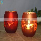wholesale cheap bulk laser glass candle holder