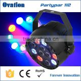 Guangzhou 12pcs*1W RGBW High Quality Dj Outdoor Led Stage Light Mini Can Bulb Christmas Led par light