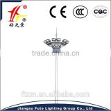 High quality & best design 13M~16M high flood lighting with high pressure sodium lamp or LED lamp