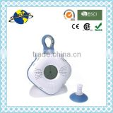 Low price waterproof fm shower radio, original design waterproof speaker for shower with suction cup