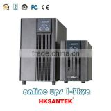 Hot 1KVA,2KVA,3KVA High Frequency Online UPS with battery or external battery, LED and LCD