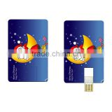popular top sales christmas electronic gifts usb flash disk credit card usb flash drive with printing logo custom design usb