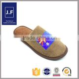 flag style china wholesale sandals, men leather sandals and slippers, duck feather and down slippers