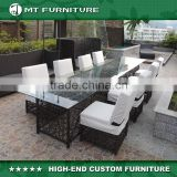 8 seater glass dining table and chairs furniture outdoor