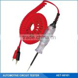 24V Auto Circuit /Voltage Tester/Detector With Dual Color LED Indicators, Two Heavy Duty Alligator Clips