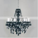 European-style iron candle chandelier pastoral living room bedroom restaurant lights new Alice