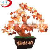 Lucky tree!!! Natural pretty citrine yellow crystal gem tree for wholesale