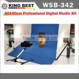 KINGBEST 40x40cm Soft Photo Studio / Professional Digital Studio Kit / Mini Light Tent Portable Photo Studio Light Box Set
