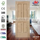 JHK-004P 3mm Good Quality Explosion Sales Europe Apartment Natural Ash Mould HDF MDF Door Skin