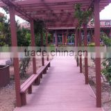 Waterproof Wood Plastic Composite Pergolas
