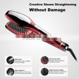 Most Advanced Hair Iron steam Hair Straightener Vapor Argan oil use Keratin Hair Straightening brush