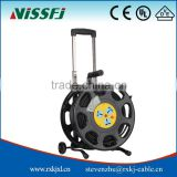 Chinese manufacturers Cassete Cable Reel Power Cable Reel 50m Extension Power Cord Reel