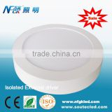 Competitive price led panel ceiling light 18w round led panel light 2year warranty led panel light dimmable