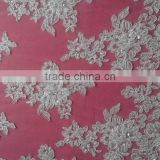 2015 new design high quality fashion fancy style guangzhou wholesale embroidery border lace fabric