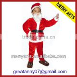 China traditional fancy baby boy dress christmas clothes set for sale