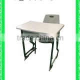 modern plastic school desk with bench HXZY028