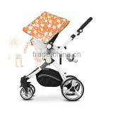 Baby stroller Push chair Hot Sale European standard High Quality And Comfortable 3 in 1 Fuctions Baby Stroller