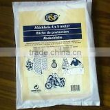 Plastic protective drop cloth/ dust sheet