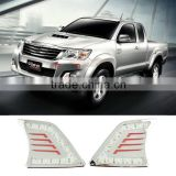 Auto LED Car Daytime Running Lights DRL For Toyota Hilux VIGO 2012 2013 2014