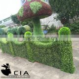 Garden artificial boxwood topiary hedge topiary ball