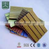 slotted grooves mdf board 4 strips 3 grooves class B flame retardant 1220*1220mm from manufacturer of Tiange Foshan