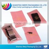 customed plastic PE anti static bag for electronic parts                                                                         Quality Choice