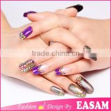 3D Nail Art Rhinestone Rainbow Color Flatback Hot Fix Stones                                                                         Quality Choice