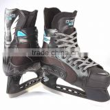 China manufacturer Stainless-steel comfortable and cold resistance ice skating shoes for woman