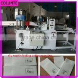 Customized beautiful wedding restaurant napkin folding machine