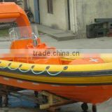6.50M INFLATE DRIGID FENDER RESCUE BOAT