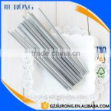 Inquiry About 25Pcs/pack Striped Fashion silver Paper Straws
