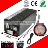 2500W 24VDC-220VAC pure sine wave inverter UPS power supply inverter AC charge home inverter
