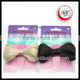 Beautiful novelty wig for sale lady gaga hair bow wig(approved by BV)                                                                         Quality Choice