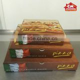 Wholesale food paper 4 colours Printing pizza box                                                                         Quality Choice