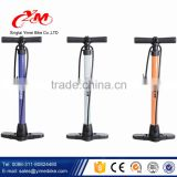 Best Hand Operated bike air pump / steel tube floor air pump for bike / cheap bicycle pump parts