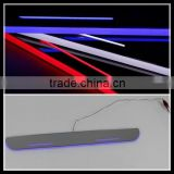 For AUDI A3 A4L A4L S4 RS4 B9 A5 A1 A6L A7 Q5 Q3 Q7 S line LED moving scuff LED door sill plate light LED door sill