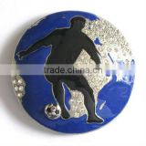 Decorative custom basketball accessories western belt buckles
