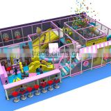 Children indoor playground with jumping bed and ball pool CIT-14143A