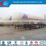 Hot sale LPG tank trailer factory direct selling LPG semi-trailer truck 56CBM LPG petroleum tanker truck