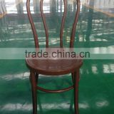 Factory Direct Sale Elegant Transparent Crystal Clear Resin Thonet Chair for Party Wedding Rental