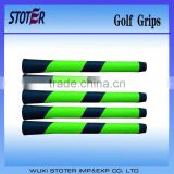 Shock absorbing and slip resistance golf grips/golf rod grips