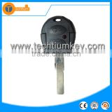 2 button remote key cover shell case fob with uncut blade replacement key for vw gol Golf 7 6