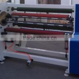 38mm core adhesive tape log roll rewinding machine
