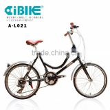 AiBIKE - STEP EASY - 20 inch 24 speed ladies cruiser