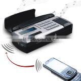 Bluetooth car kit/Bluetooth handsfree Car kit/Bluetooth FM transmitter with lcd disply show the caller ID,TTS function