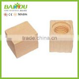 China supplier wood bamboo cap for car air freshener
