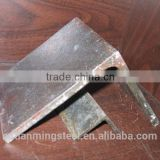 ST37-2 mild angle beam 75*75 angle steel iron bracket profile angle bar for Transmission tower