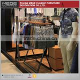 Clothes Store Metal Fixtures Retail Display