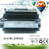 Factory direct sales laser comatible ML-2550DA toner cartridge for Samsung ML-2550 and 2551N